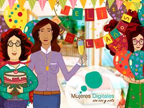 Mujeres Digitales - personajes